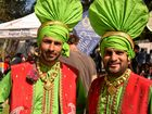 Sydney bhangra dance troupe Rhythm of Bhangra flashed its colours at the Woolgoolga Curryfest on Saturday, September 24.