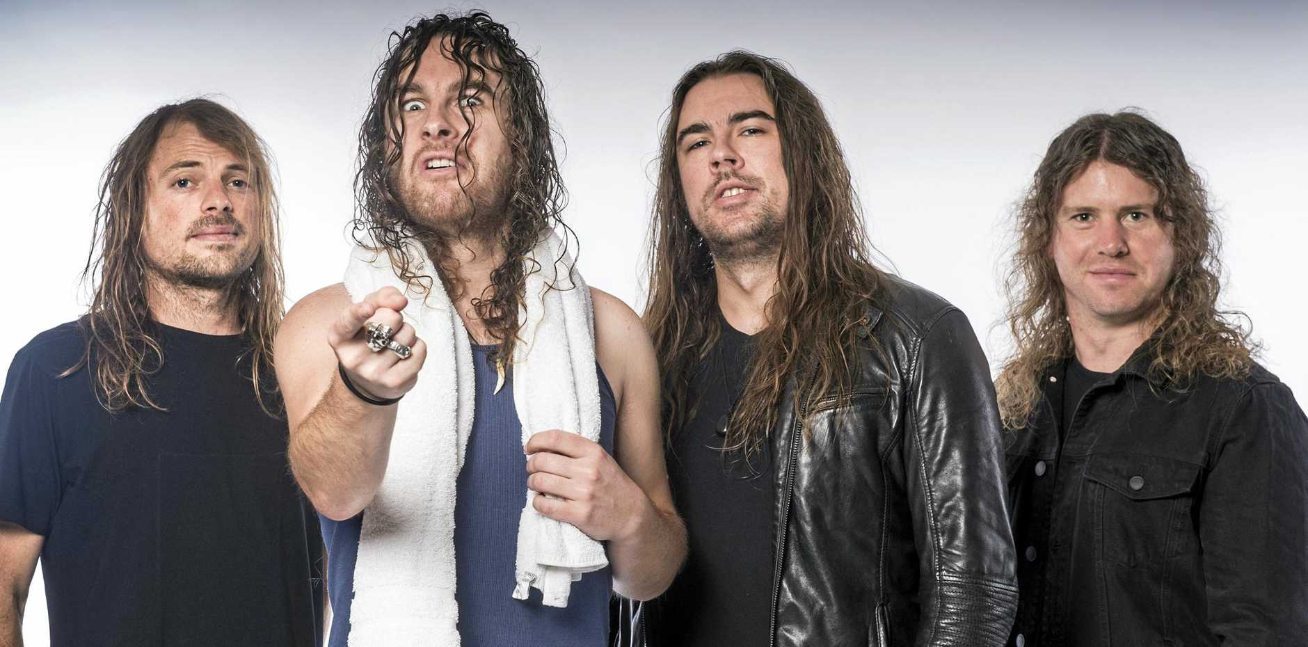 Airbourne have a new album coming out and a new tour on the way.  Photo Contributed