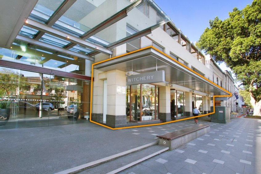 UPMARKET: The families built a shopping complex in Sydney's upmarket Double Bay.