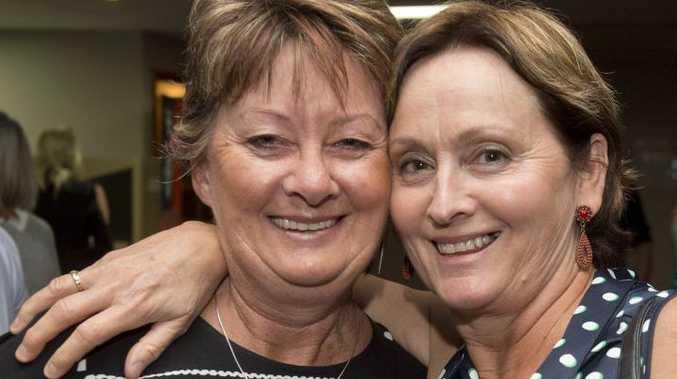 ( From left ) Sally White and Sandra Ott at JB's Cabaret - the Wonder Years. Saturday Sep 24, 2016.