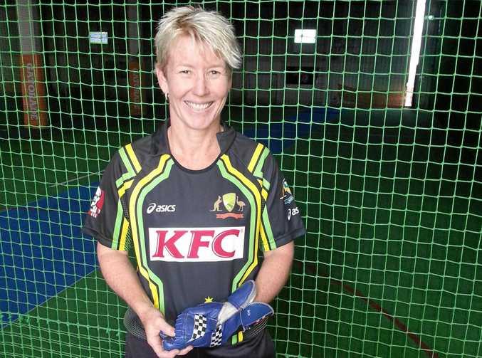 Ipswich international indoor cricketer Dulane Carson