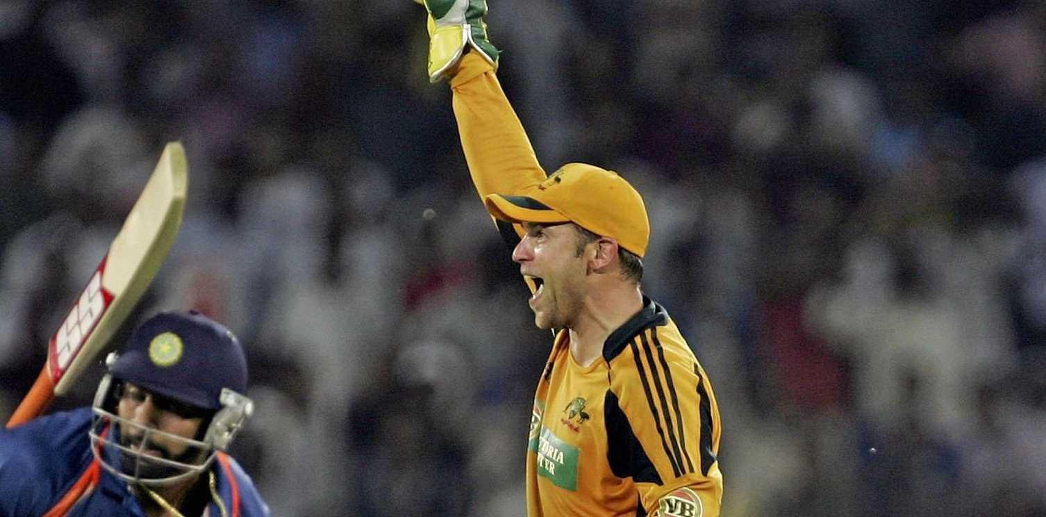 CLOSE EYE: Former Australian wicketkeeper Graham Manou will mentor Australia's best junior cricketers.