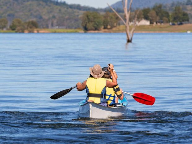 Lake Somerset is a great place to visit these holidays, with a range of activities