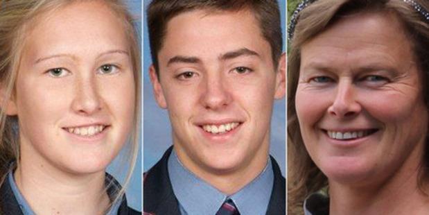 Sadie Stewart, Jamie Wearmouth and Susanna Stewart died in a car crash