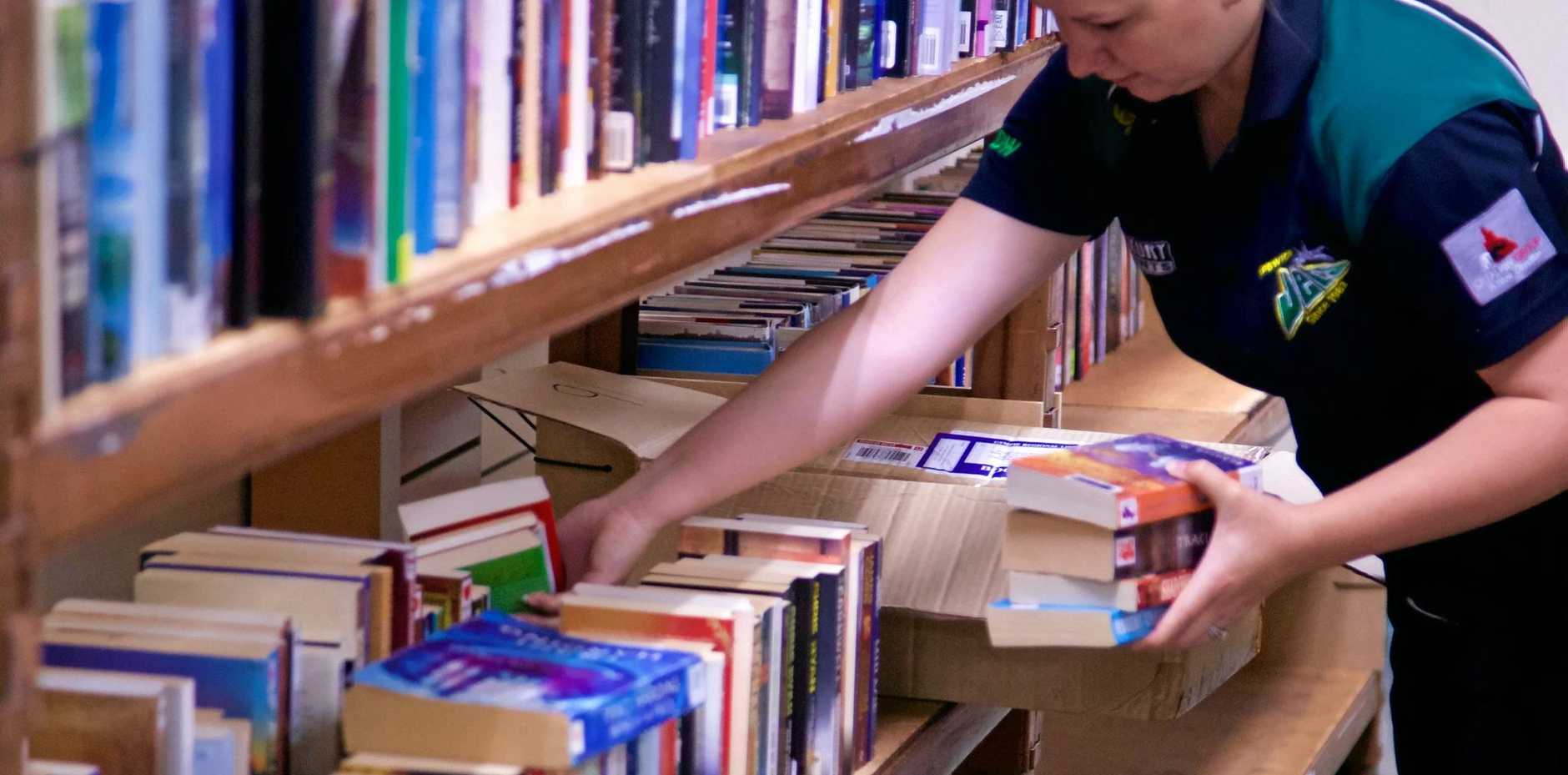 BOOK SALE: The DrugARM pop-up book store in Ipswich City Square is selling your favourites for just $2 each.