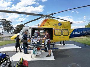 South Burnett man airlifted after dirt bike crash