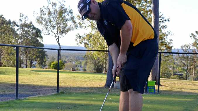 ON TRACK: Brock Harm was the winner of Gatton Golf Club's Road To The PGA competition.
