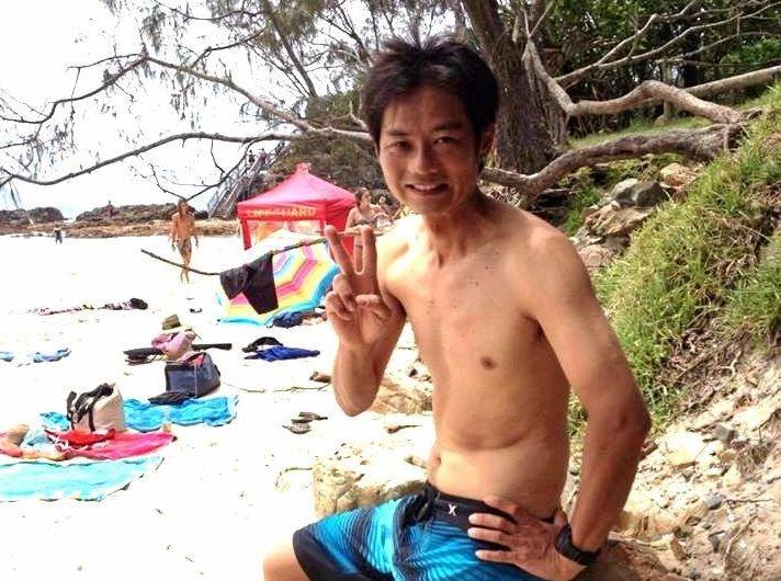 Tadashi Nakahara was killed by a great white shark in February 2015.