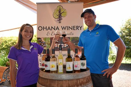 TOP DROPS: Zoe Young and Josh Phillips from Ohana Winery.