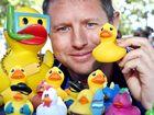 Choppy seas don't stop Great Fraser Coast Duck Race