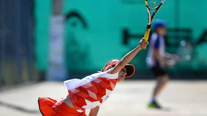 JUNIOR CHAMPION: Darina Kamenoff competing in the Bundaberg Age Open.