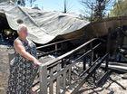 Pet still missing after family of five flees burning home