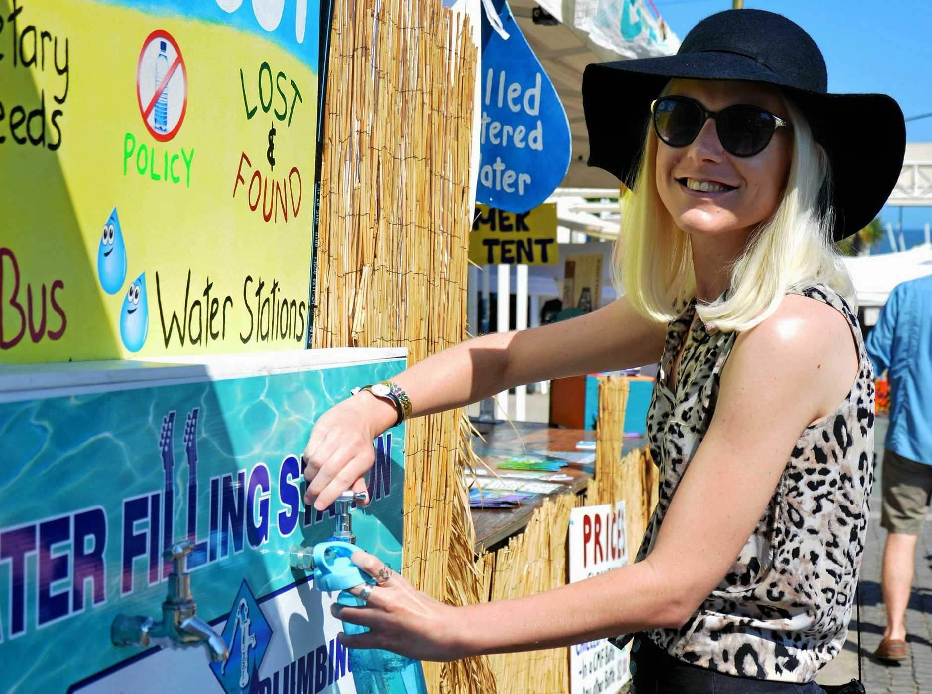 The Caloundra Music Festival's BYO Bottle initiative has captured international attention.