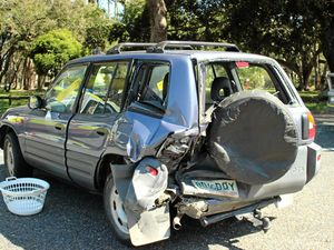 Two cars collide in afternoon smash