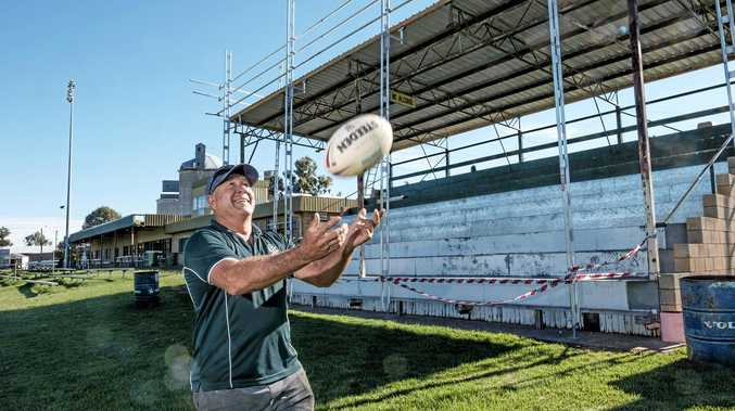 Chinchilla Bulldogs president Lee Irwin is looking forward to seeing the renovations at Bulldog Park - the club's first major refurbishment in about 30-odd years.