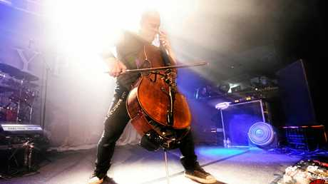 Apocalyptica play Max Watts in Brisbane on their Shadowmaker Tour.