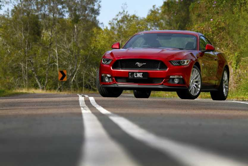 BEST-SELLER: The Ford Mustang was the best-selling sports car in Australia in 2016 by some margin.