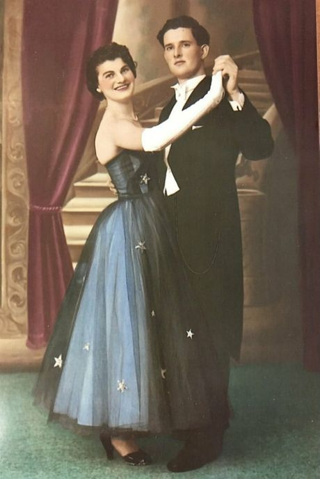 Joan Gauldie and her husband Denis. They met ballroom dancing at Cloudland.