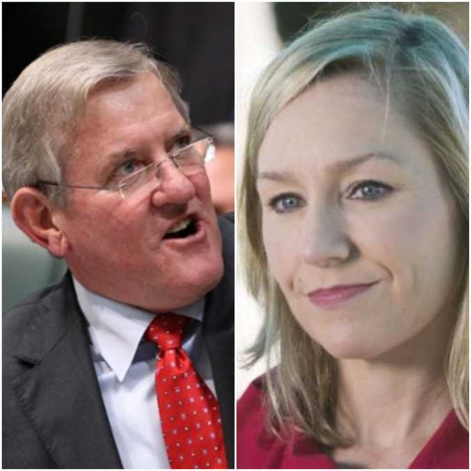 Ian Macfarlane and Larissa Waters are at loggerheads over Mr Macfarlane's appointment to the Queensland Resources Council.