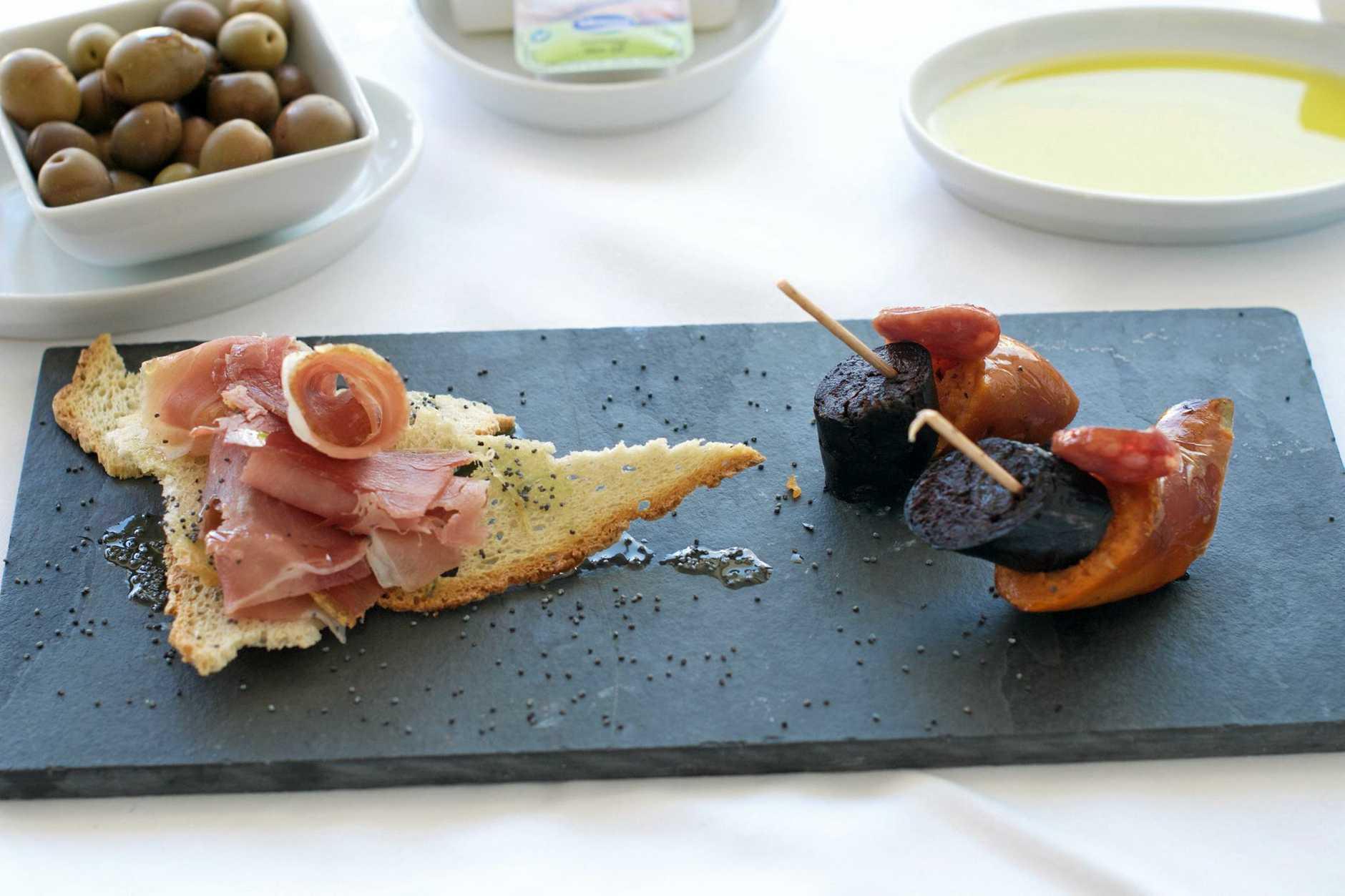The cuisine, a Portuguese drawcard.