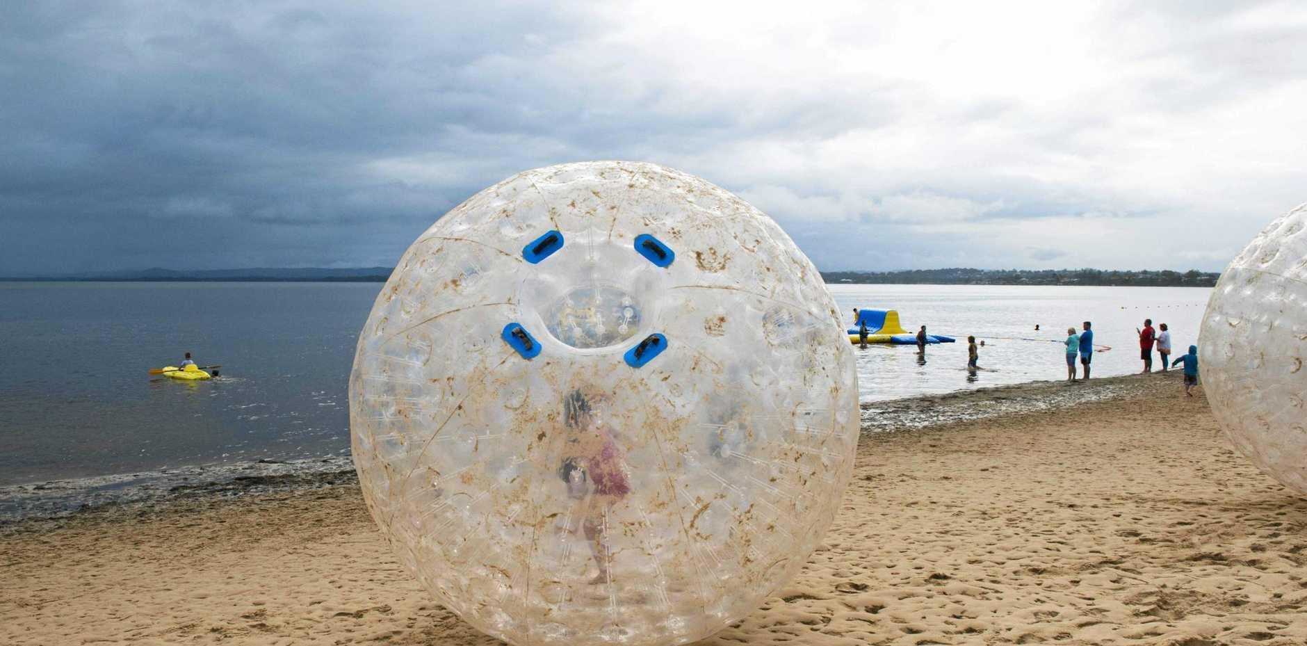 HAD A BALL: Last year's Tuggerah Lakes Festival involved a whole range of fun activities.