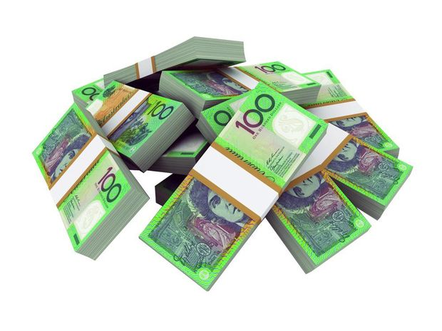 Stock image of cash for better business.