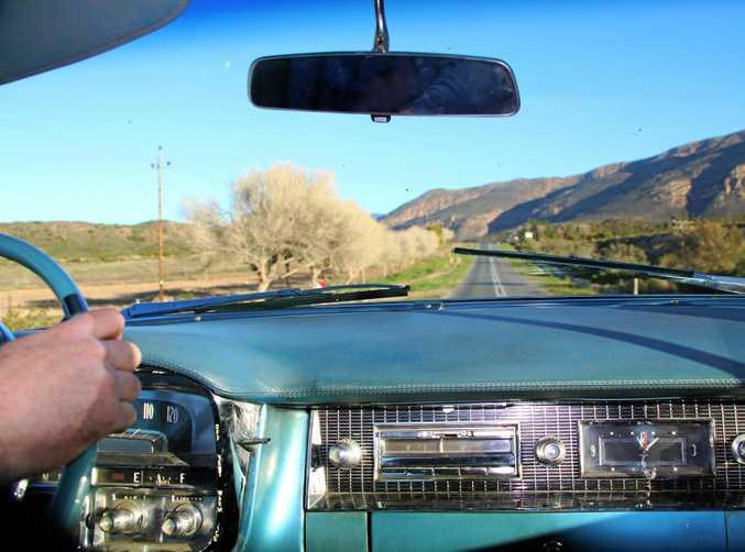The 1956 Cadillac Sedan De Ville.