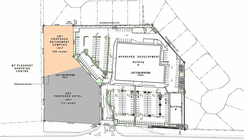 Plans for Charlie Camilleri's new development.