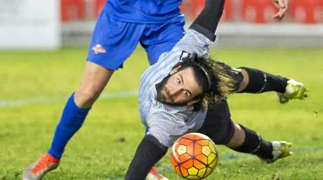 Keeper Luke Borean will again be between the sticks for Thunder next year.