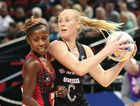 RECRUITED: New Zealand's Laura Langman, right, will play for the Sunshine Coast Lightning.