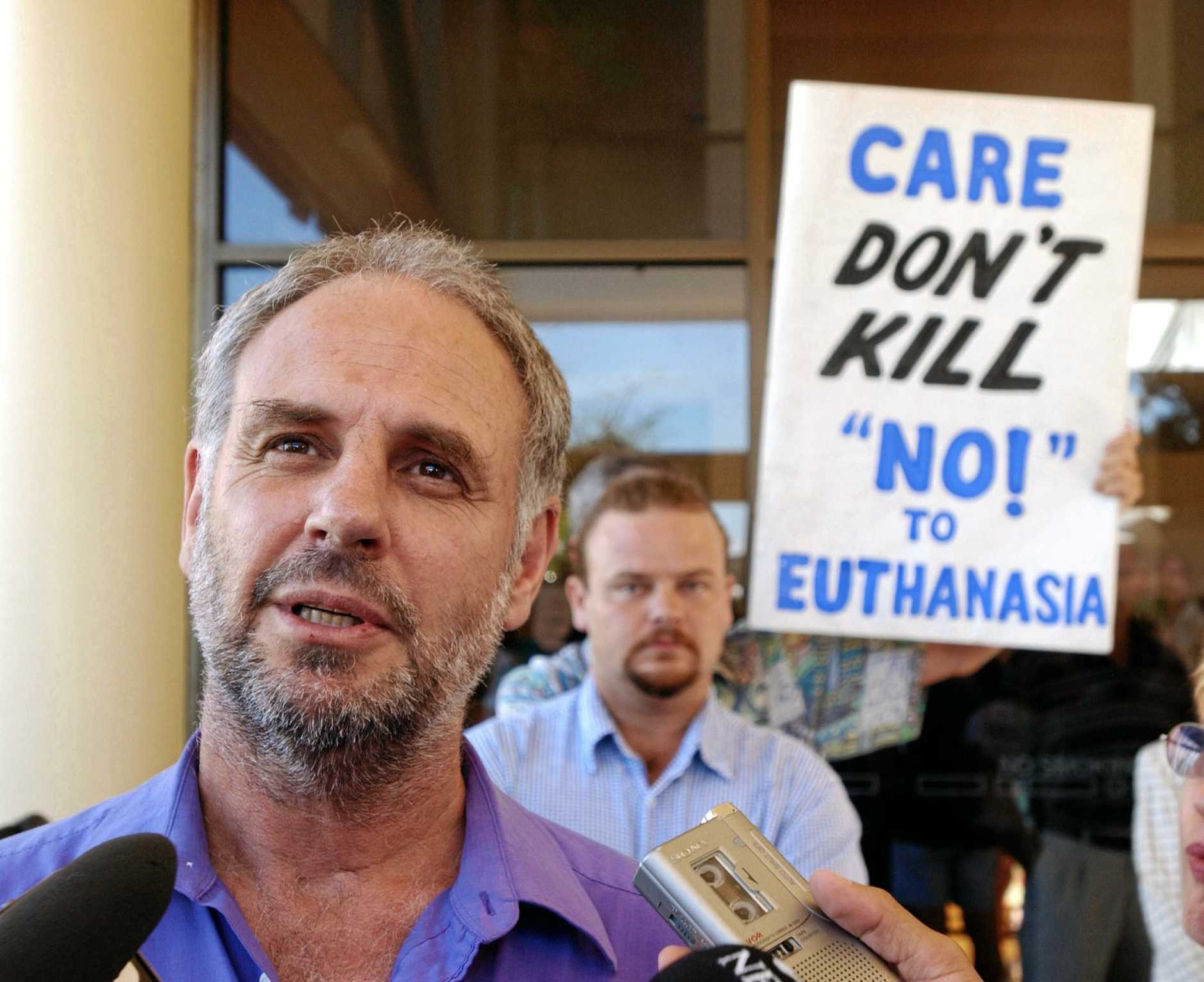 Euthanasia advocate Dr Phillip Nitschke will dedicate a meeting and workshop to Noosa woman Jules Hunter, who ended her life earlier this month.