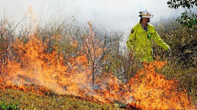 Five fire crews attend vegetation fire north of Yeppoon