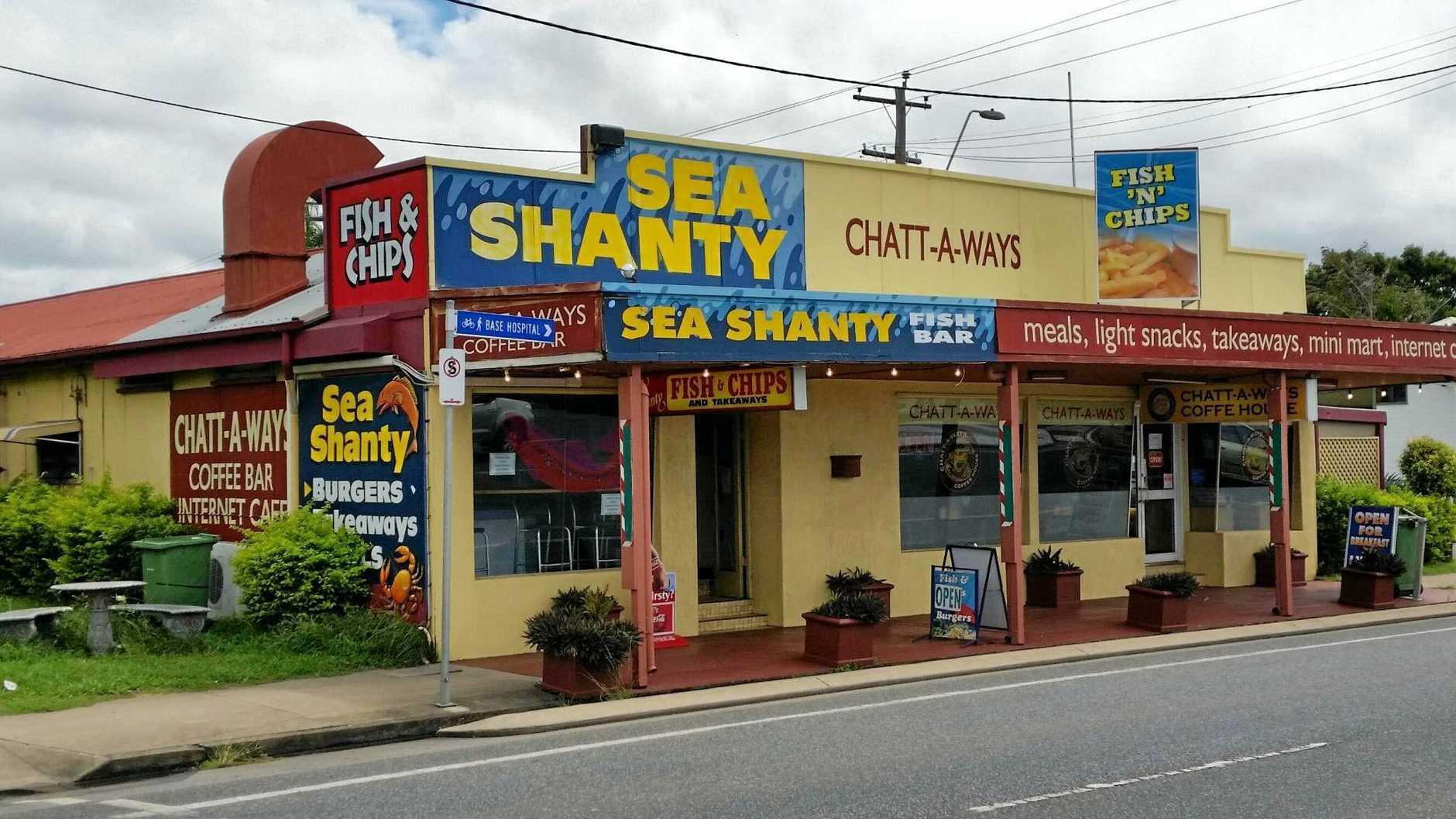 Sea Shanty on Nebo Rd.