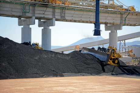 Wiggins Island Coal Export Terminal.