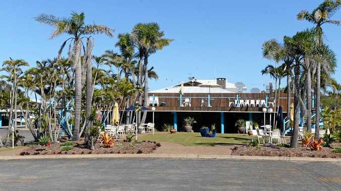 The Woodgate Beach Hotel.