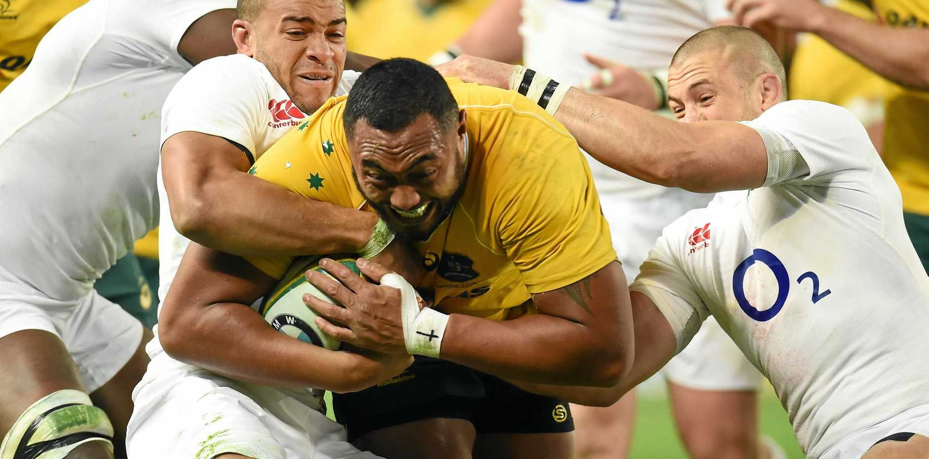 Wallaby prop Sekope Kepu says Australia has some good young front-rowers coming through.