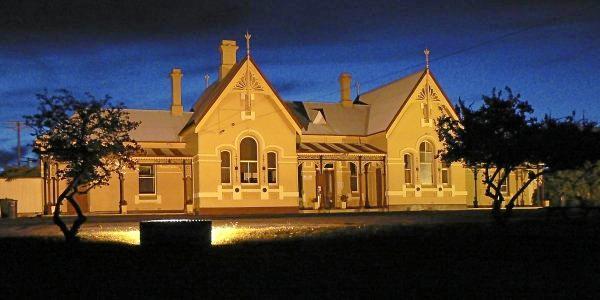 The historic Tenterfield Railway Station.