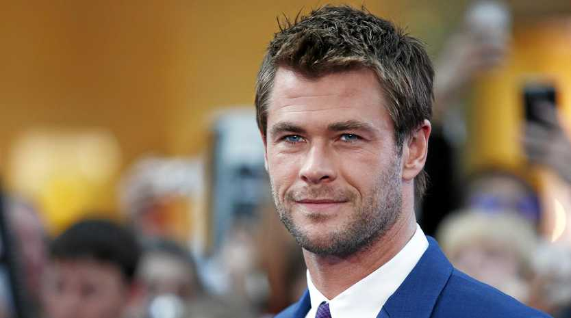 Australian actor Chris Hemsworth poses on the red carpet for the European premiere of the film 'Avengers: Age of Ultron' in London on April 21, 2015.