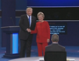 Clinton/Trump clash in Debate