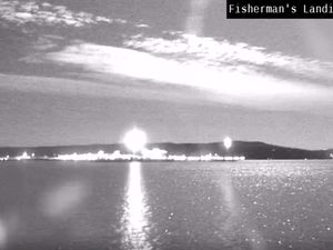 WATCH: Government footage of 'fireball' lighting up sky