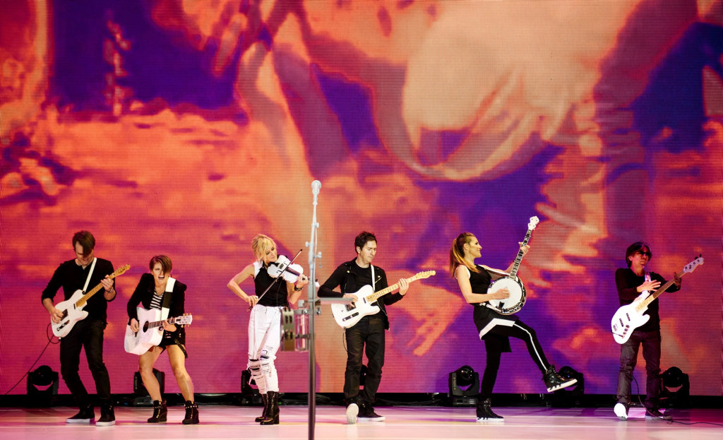 US country music group The Dixie Chicks. Supplied by Chugg Entertainment.