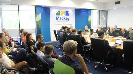 Mackay Regional Council chambers were packed at this morning's ordinary meeting, in which a vote succeeded to remove fluoride from the region's water supply.