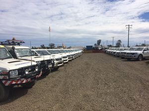 PHOTOS: Tradies tipped for buying frenzy at 'Hilux heaven'
