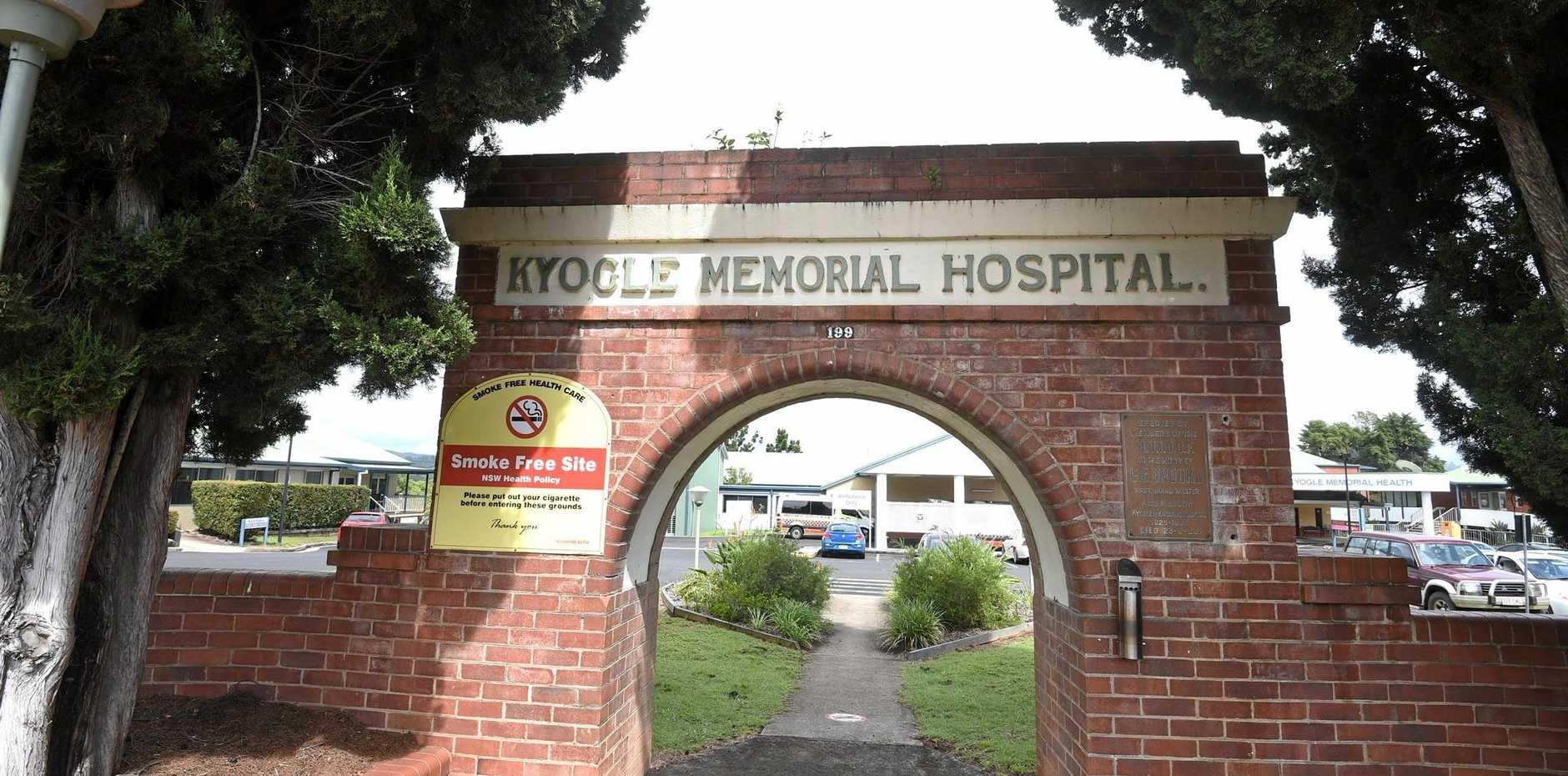 Kyogle Memorial Hospital file photo.