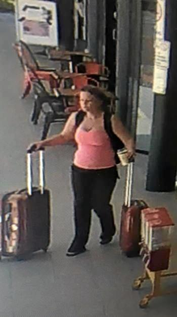 CANDID CAMERA: Police are asking the public for help in identifying a woman in relation to an alleged theft of a ute parked outside Feedbarn on the Dawson Hwy on Friday.