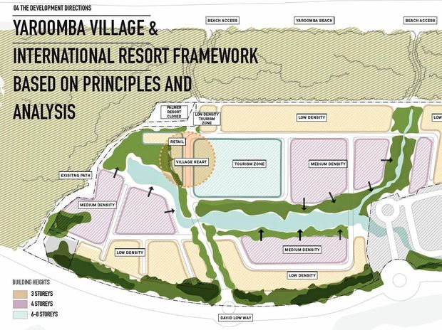 CONCEPT: A mud map of the Sekisui House Yaroomba site has been made public following consultation sessions.