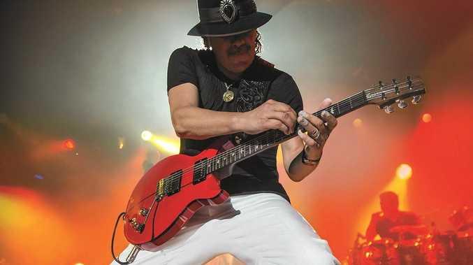 Carlos Santana at Bluesfest 2013.