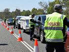 ROAD BLITZ: Police breath-test drivers on the Bruce Hwy at Gin Gin during a school holiday traffic blitz on Wednesday, September 28.