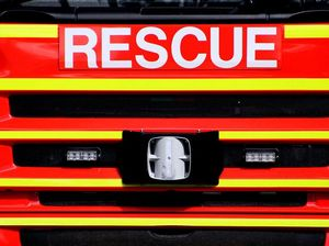 Southern Downs fire crews en route to a burning car