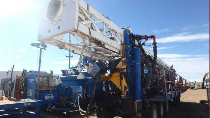 Three coal seam gas/oil drilling rigs are located in Roma and available for inspection by appointment only.